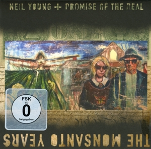 YOUNG, NEIL & PROMISE OF - MONSANTO YEARS -CD+DVD-