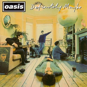 OASIS - DEFINITELY MAYBE -SILVER-