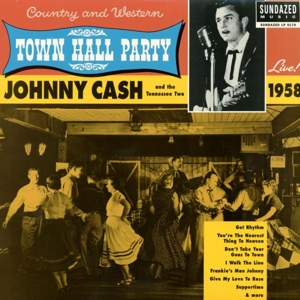 CASH, JOHNNY - LIVE AT TOWN HALL..1958