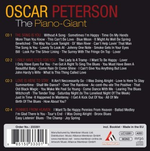 PETERSON, OSCAR - PIANO GIANT