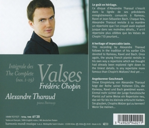 ALEXANDRE THARAUD - CHOPIN INTEGRALE DES VALSES