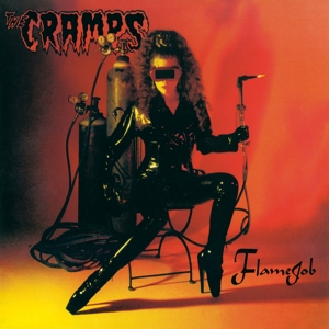 CRAMPS - FLAMEJOB -COLOURED-