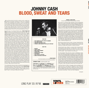 CASH, JOHNNY - BLOOD SWEAT AND TEARS