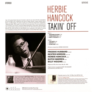 HANCOCK, HERBIE - TAKIN' OFF -HQ/GATEFOLD-