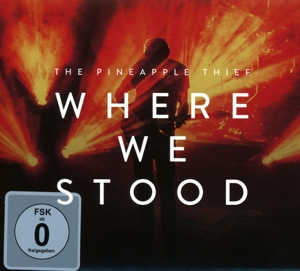 PINEAPPLE THIEF - WHERE WE STOOD -CD+DVD-