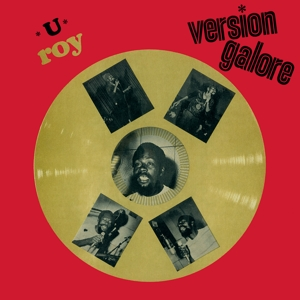U ROY - VERSION GALORE -COLOURED-