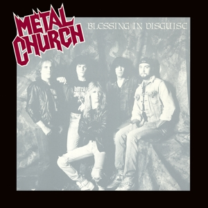 METAL CHURCH - BLESSING IN.. -COLOURED-