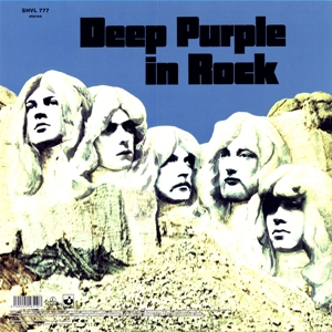 DEEP PURPLE - IN ROCK -COLOURED-