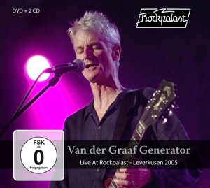 VANDERGRAAF GENERATOR - LIVE AT ROCKPALAST/ 2CD+DVD -CD+DVD-
