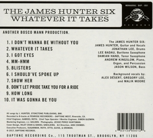HUNTER, JAMES - WHATEVER IT TAKES
