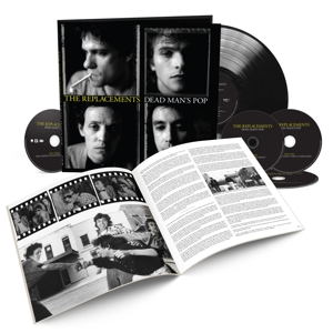 REPLACEMENTS - DEAD MAN'S POP -BOX SET-