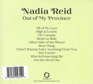 NADIA REID - OUT OF MY PROVINCE
