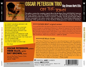 PETERSON, OSCAR - ON THE TOWN