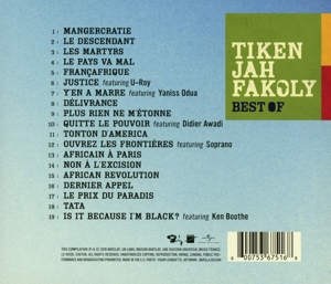 FAKOLY, TIKEN JAH - BEST OF