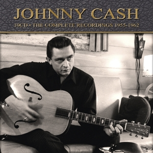 CASH, JOHNNY - COMPLETE RECORDINGS  1955-1962