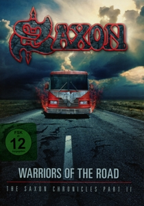 SAXON - WARRIORS OF THE ROAD -DVD+CD-