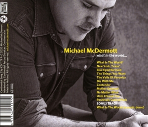 MCDERMOTT, MICHAEL - WHAT IN THE WORLD