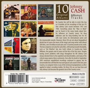 CASH, JOHNNY - 10 ORIGINAL ALBUMS