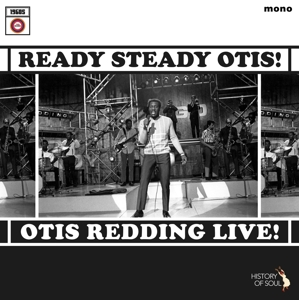 REDDING, OTIS - READY, STEADY, OTIS! (LIVE)