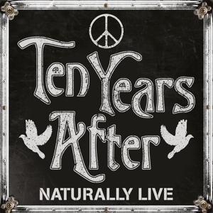 TEN YEARS AFTER - NATURALLY LIVE -COLOURED-