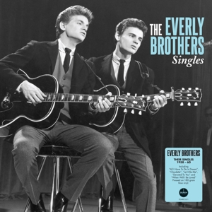 EVERLY BROTHERS - SINGLES -COLOURED/HQ-