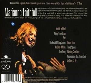 FAITHFULL, MARIANNE - LIVE IN HOLLYWOOD -DIGI-