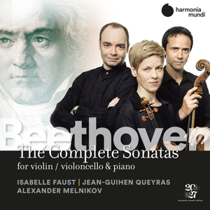 ISABELLE FAUST JEAN-GUIHEN QUEYRAS - BEETHOVEN THE COMPLETE SONATAS FOR