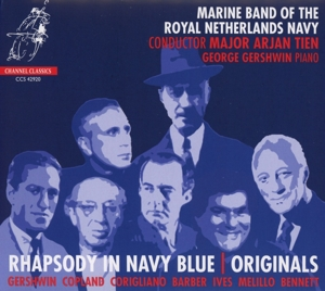 MARINE BAND OF THE ROYAL NETHERLAND - RHAPSODY IN NAVY BLUE / ORIGINALS