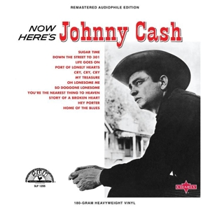 CASH, JOHNNY - NOW HERE'S JOHNNY CASH / RED VINYL -COLOURED-