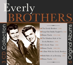 EVERLY BROTHERS - 6 ORIGINAL ALBUMS