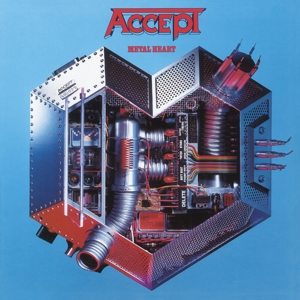 ACCEPT - METAL HEART -HQ/INSERT-