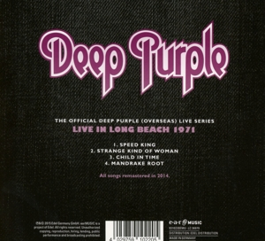 DEEP PURPLE - LONG BEACH 1971 -DIGI-
