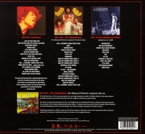 HENDRIX, JIMI -EXPERIENCE- - ELECTRIC LADYLAND -ANNIVERS-