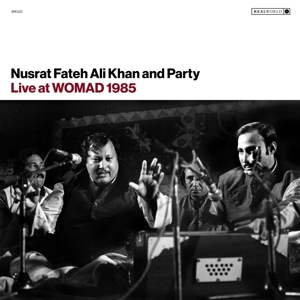KHAN, NUSRAT FATEH ALI - LIVE AT WOMAD 1985