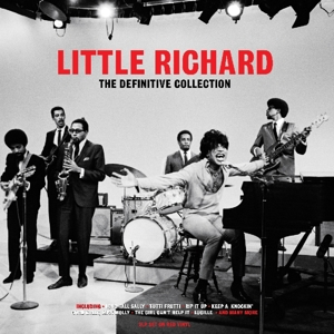LITTLE RICHARD - DEFINITIVE COLLECTION / RED VINYL -COLOURED-