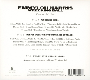HARRIS, EMMYLOU - WRECKING BALL -CD+DVD-