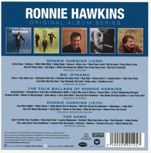 HAWKINS, RONNIE - ORIGINAL ALBUM SERIES