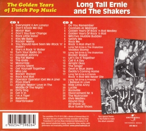 LONG TALL ERNIE & THE SHAKERS - GOLDEN YEARS OF DUTCH POP MUSIC
