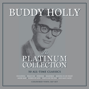 HOLLY, BUDDY - PLATINUM COLLECTION / WHITE VINYL -COLOURED-