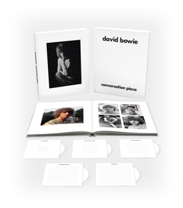 BOWIE, DAVID - CONVERSATION PIECE / 5CD+120 PG HARDBACK BOOK -BOX SET-