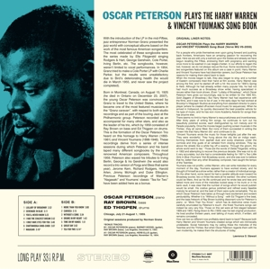 PETERSON, OSCAR - PLAYS THE HARRY WARREN..