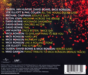 RONSON, MICK - BESIDE BOWIE  THE MICK RONSON STORY