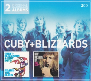 CUBY&BLIZZARDS - 2 FOR 1 (SC) PRAISE THE BLUES/LIVE