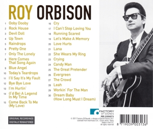 ORBISON, ROY - LET'S MAKE A MEMORY