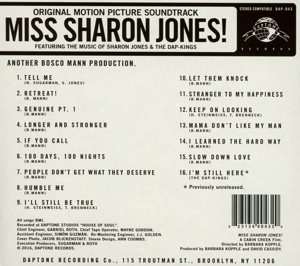JONES, SHARON & THE DAP-K - MISS SHARON SHONES (OST)