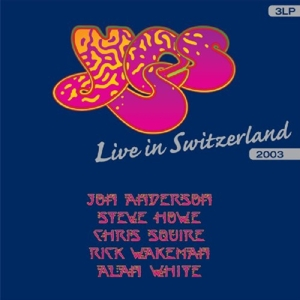 YES - LIVE IN SWITZERLAND-LIVE-