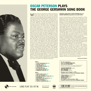 PETERSON, OSCAR - SINGS THE GEORGE..