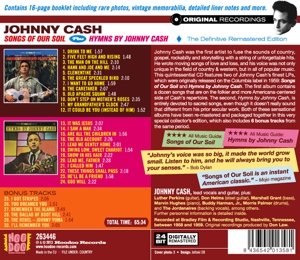 CASH, JOHNNY - SONGS OF OUR SOIL/HYMNS..