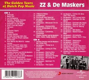 ZZ & DE MASKERS - GOLDEN YEARS OF DUTCH POP MUSIC