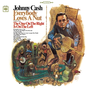 CASH, JOHNNY - EVERYBODY LOVES A NUT -HQ